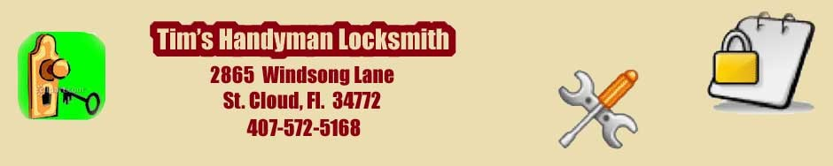 Tim's Handyman Locksmith